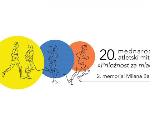 """20. mednarodni atletski miting """"Priložnost za mlade"""" in 2. memorial Milana Baleka"""
